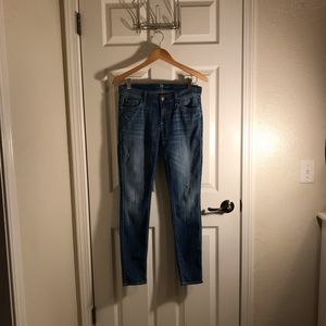 7 for all mankind :: The Skinny :: Denim